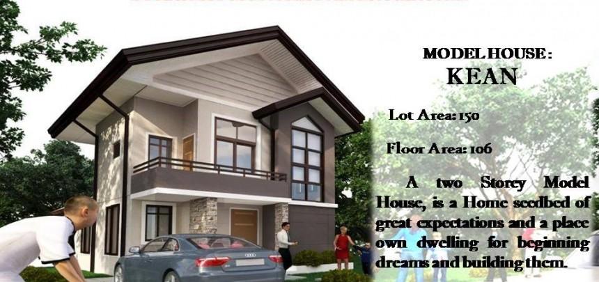 Kean model House Of Granville Subdivision Davao