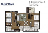 Floor Plan - 2BR B